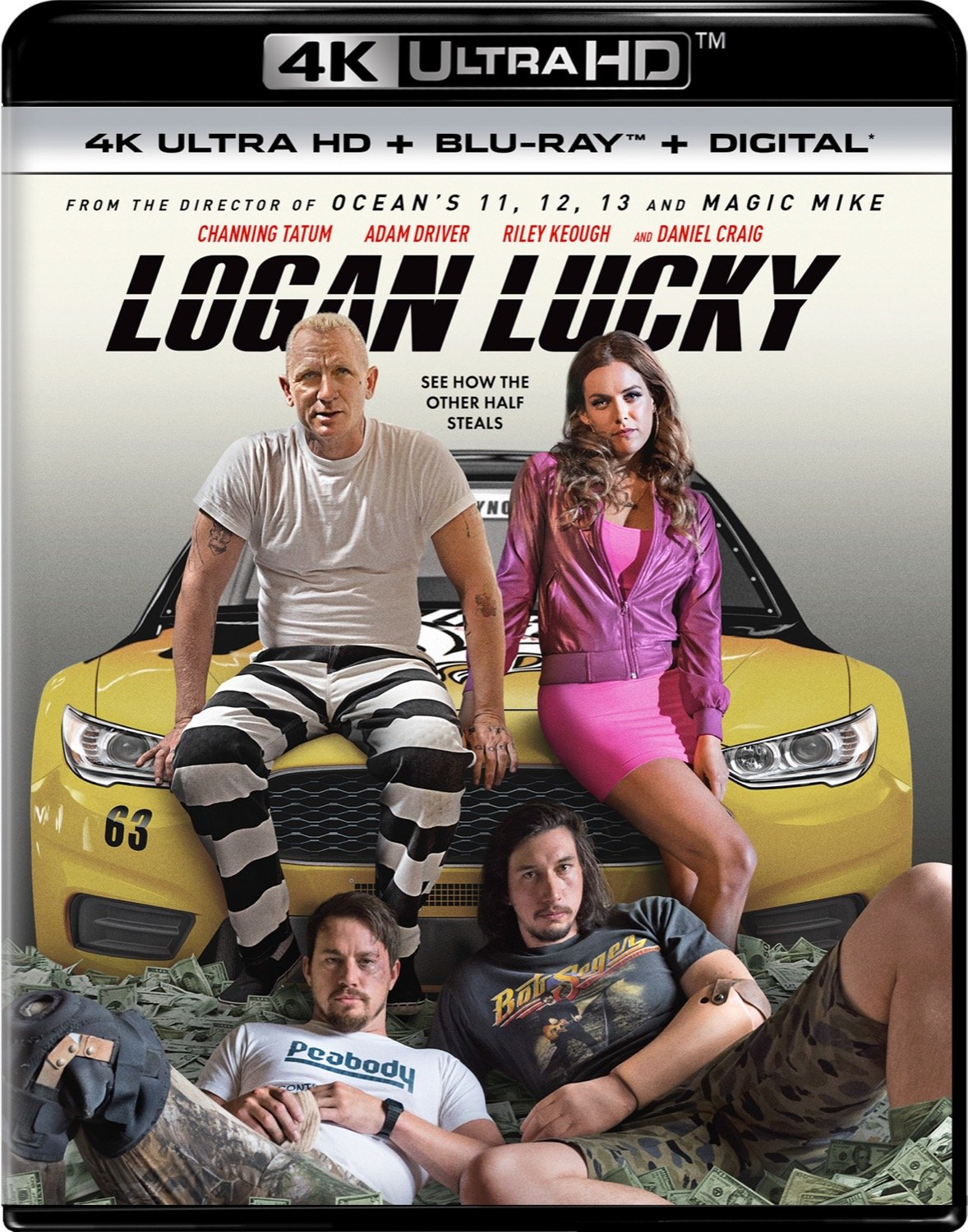 4K Blu-ray : Logan Lucky (With Blu-Ray, 4K Mastering, Ultraviolet Digital Copy, 2 Pack, Digital Copy)