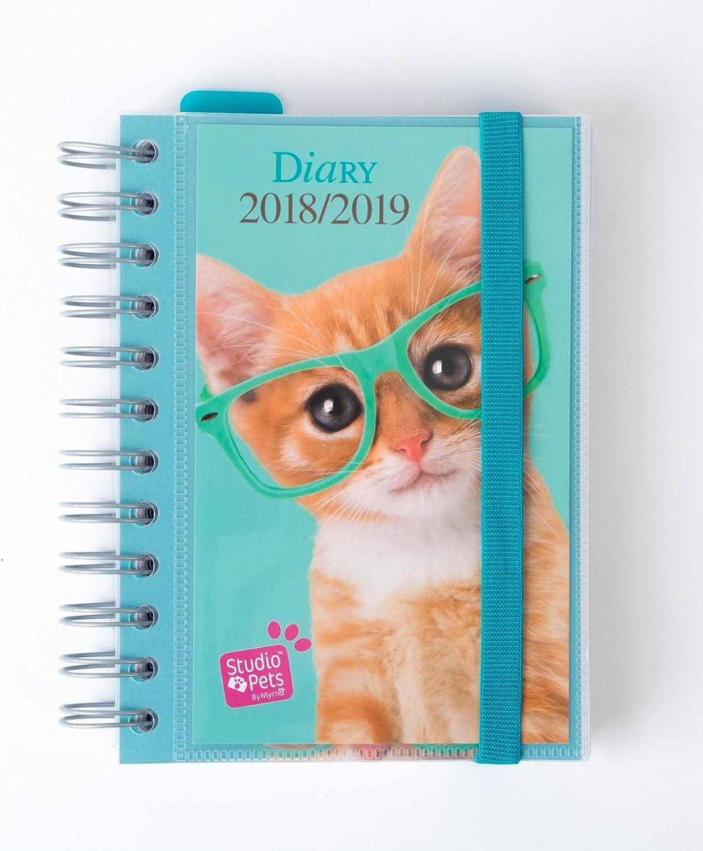 Grupo Erik Editores Studio Pets Gato- Agenda escolar 2018-2019 día ...