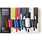 Liquitex BASICS 6 Tube Acrylic Paint Set, 118ml