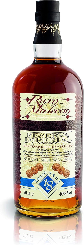 Rum Malecon Añejo 18 Años Reserva Imperial 40% - 700 ml in ...