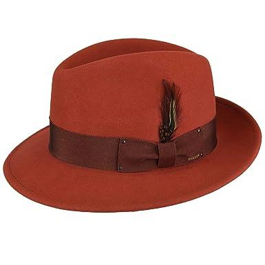 26aa6d508f2 Bailey Hollywood Men s Blixen Trilby Hat Fedora