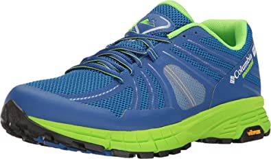Columbia Men's Mojave Trail Outdry Super Blue/White Athletic Shoe