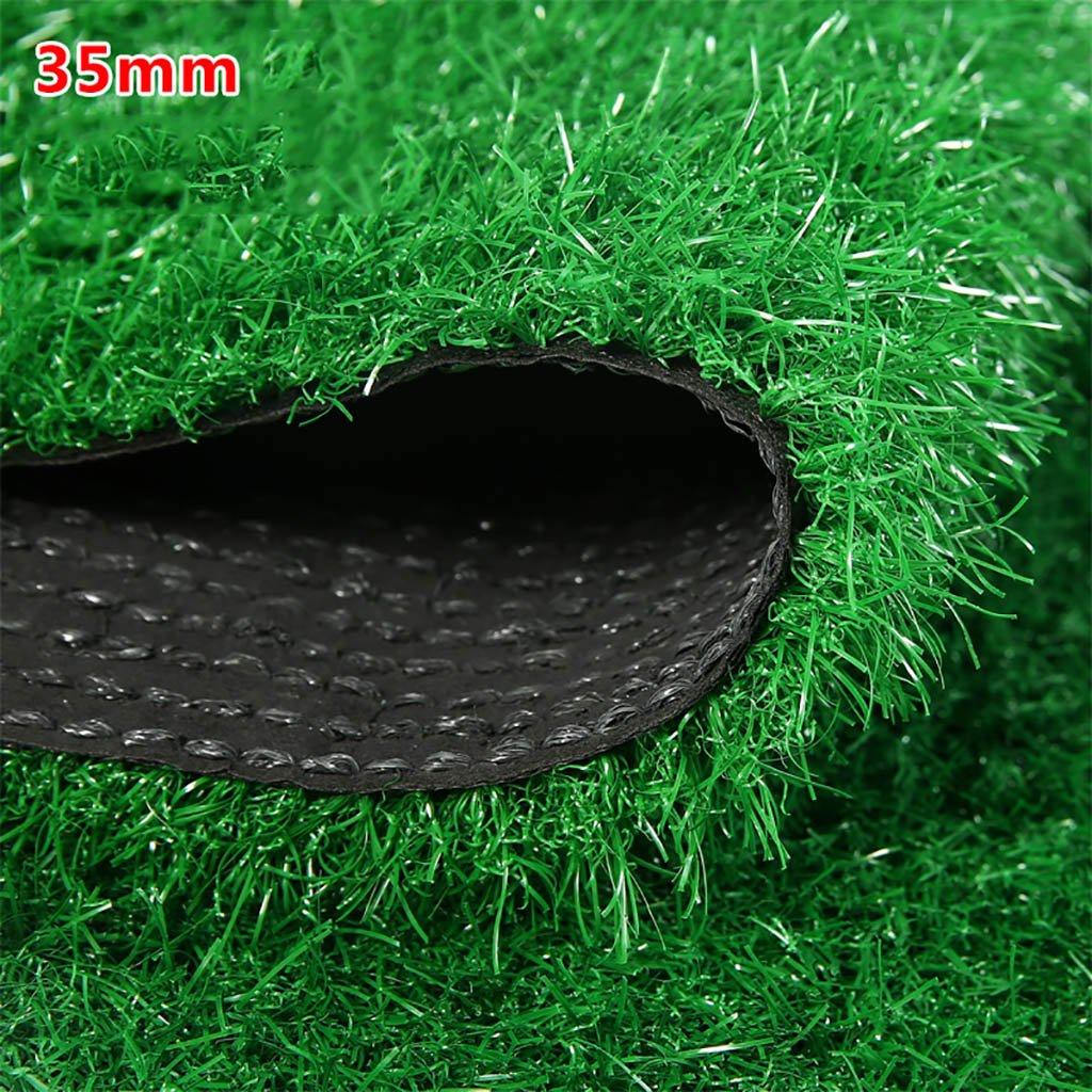 WENZHE 人工芝芝生 ガーデンターフ 人工芝高密度格安3色、幅2メートル、厚さ4種類 ( 色 : A , サイズ さいず : 2*5m ) B076Z4WBK5 12367 2*5m|A A 2*5m