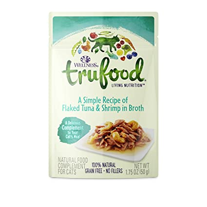 Wellness trufood complements natural grain free wet raw cat food wellness trufood complements natural grain free wet raw cat food flaked tuna shrimp forumfinder Choice Image