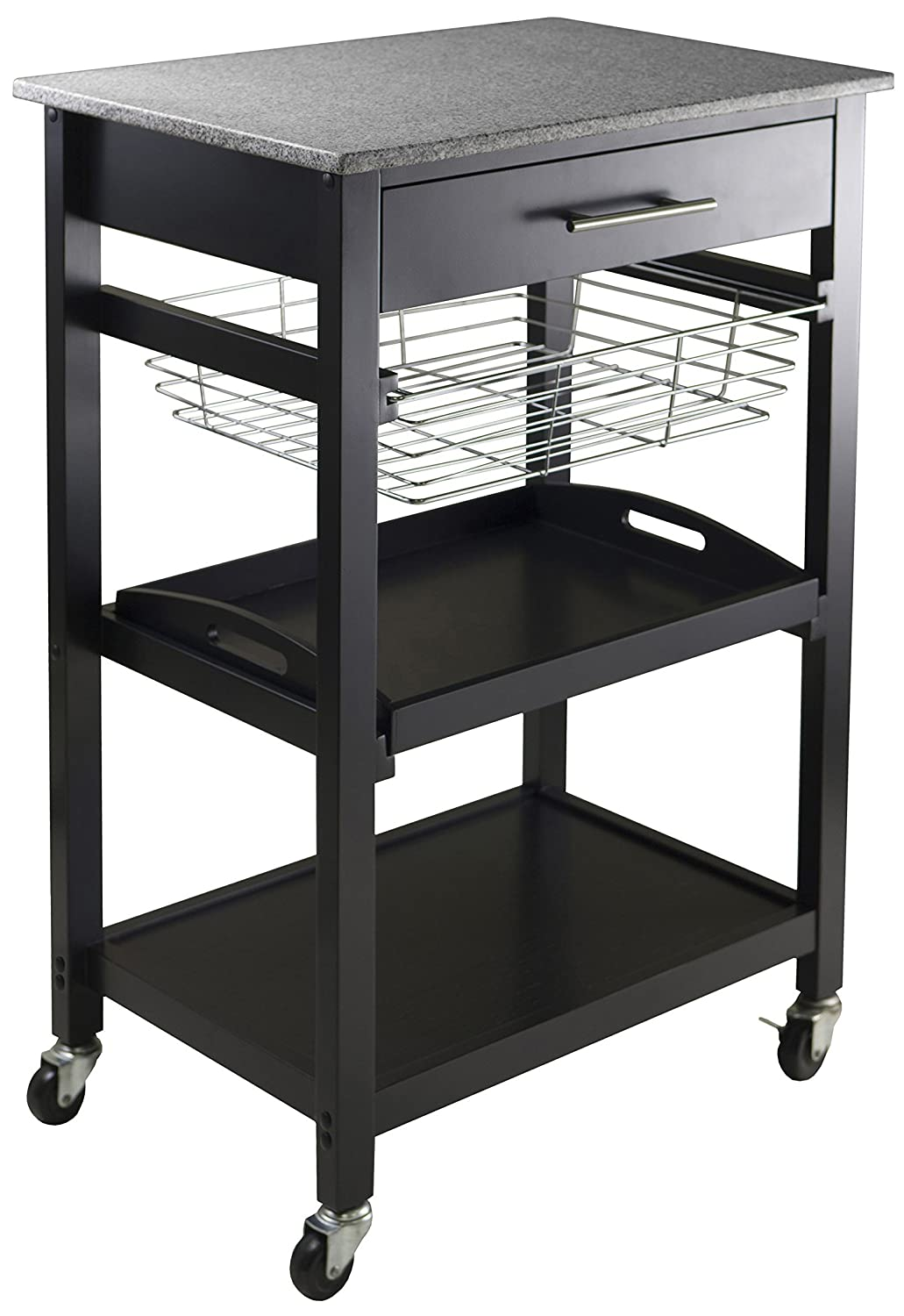 Winsome Wood Julia Utility Cart 20322
