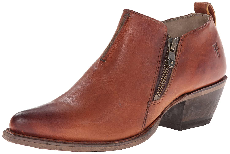 FRYE Women's Sacha Moto Shootie Western Boot B00KZ71PWK 8 B(M) US|Cognac-78001