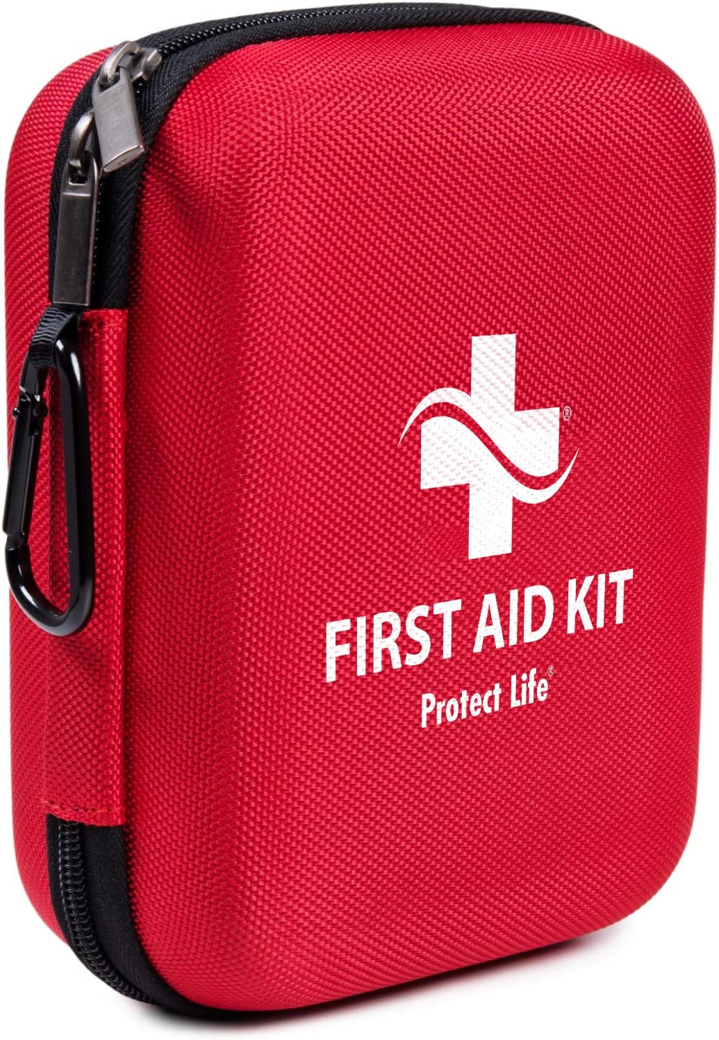 First Aid Kit - 200 Piece - for Car, Home, Outdoors, Sports, Camping, Hiking or Office | Red Case Fully Packed with Emergency Supplies: Health & Personal Care
