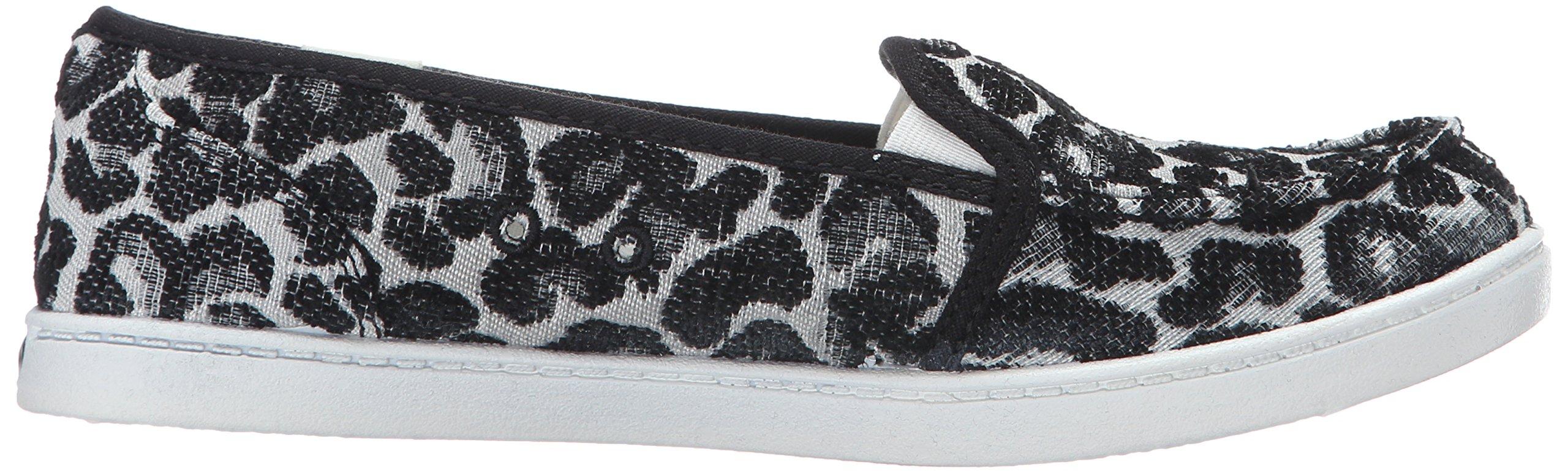 Roxy Women's Lido Iii Slip-on Shoes Flat, Black/Black/Dark Grey, 7 M US by Roxy (Image #7)