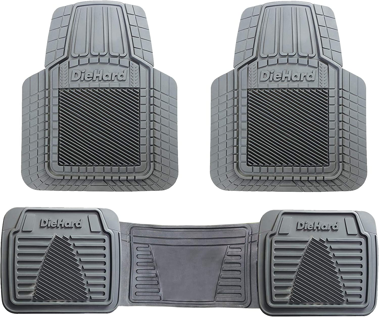 3 Pack DieHard 99828 Black Floor Mat Sets