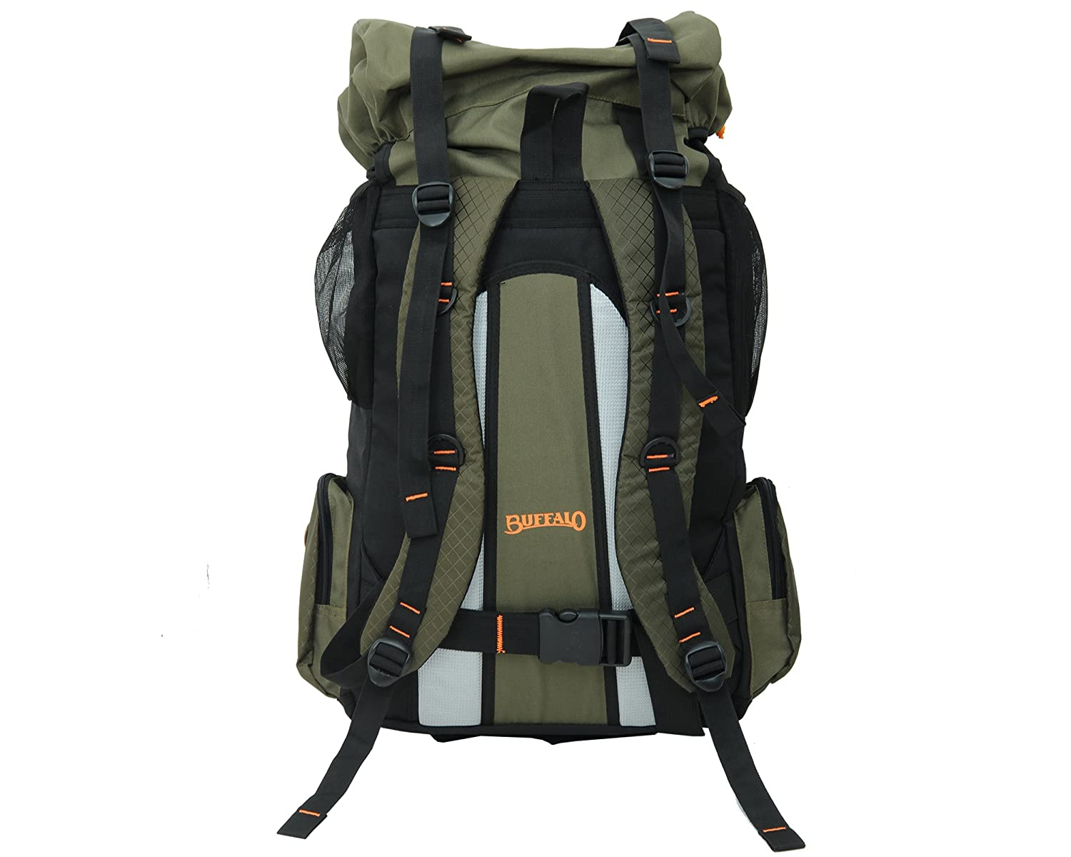 Buffalo Camptrek Polyester Hiking Backpack 65 Cm H X 32 Voucer Shodaqo Nuril L 19 B Green Bags Wallets Luggage