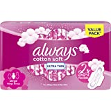 Always Cotton Soft Ultra Thin, Large sanitary pads, 16 pads