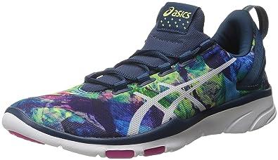 fe5166871b279 Amazon.com | ASICS Women's Gel-FIT SANA 2 Cross-Trainer Shoe, Pool ...