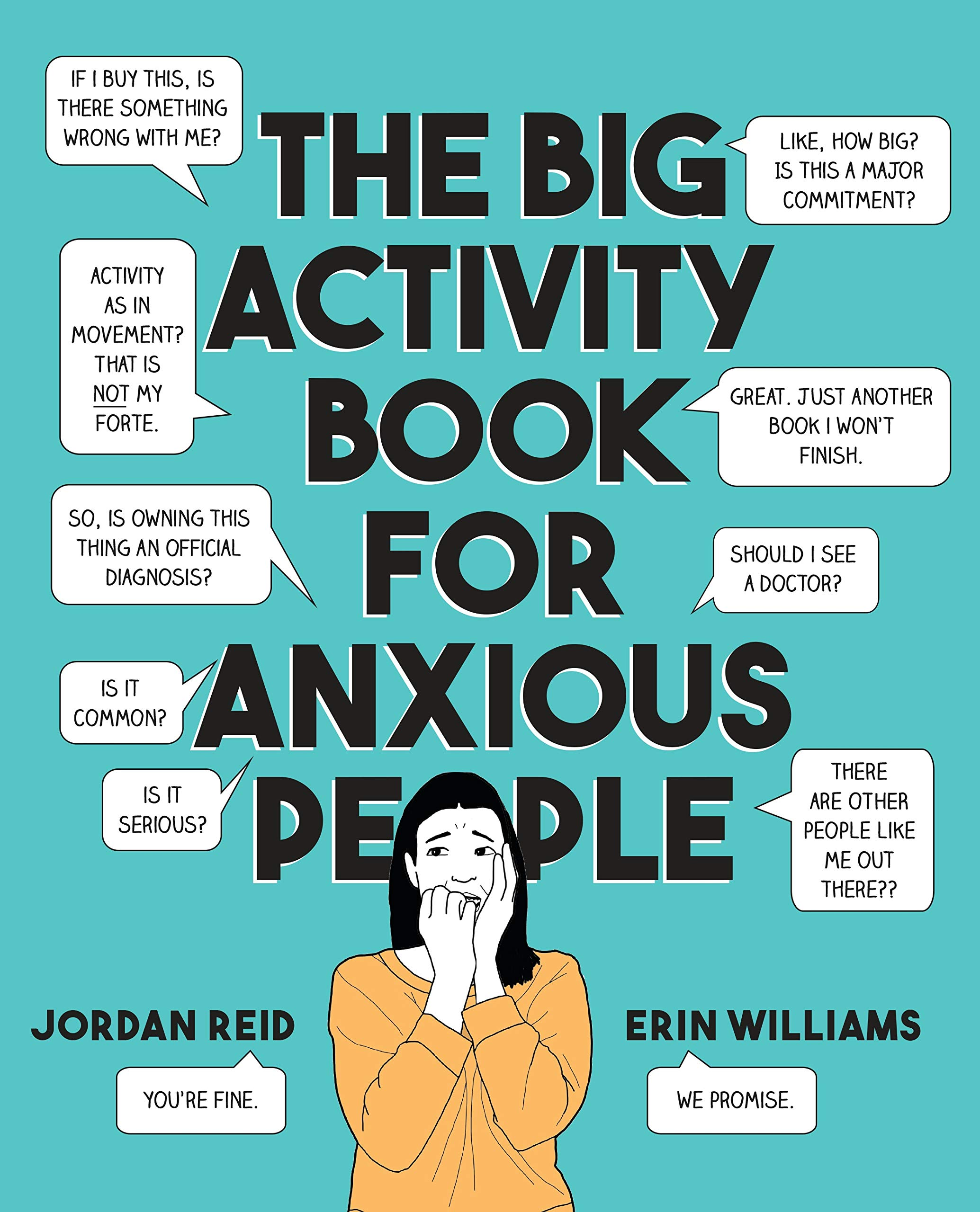 Big Activity Book Anxious People