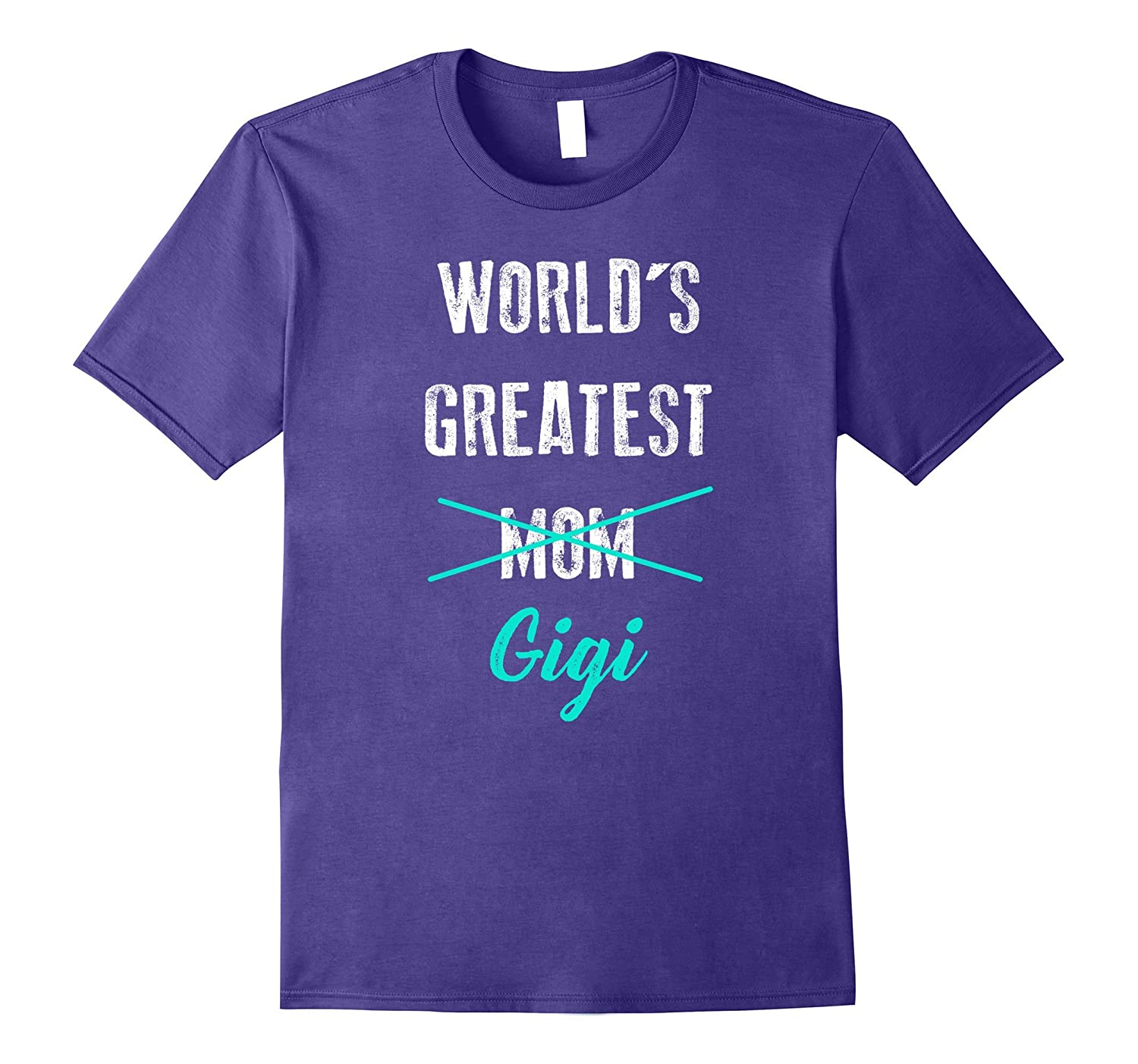 Worlds Greatest Mom Gigi Shirt Pregnancy Announcement-CD