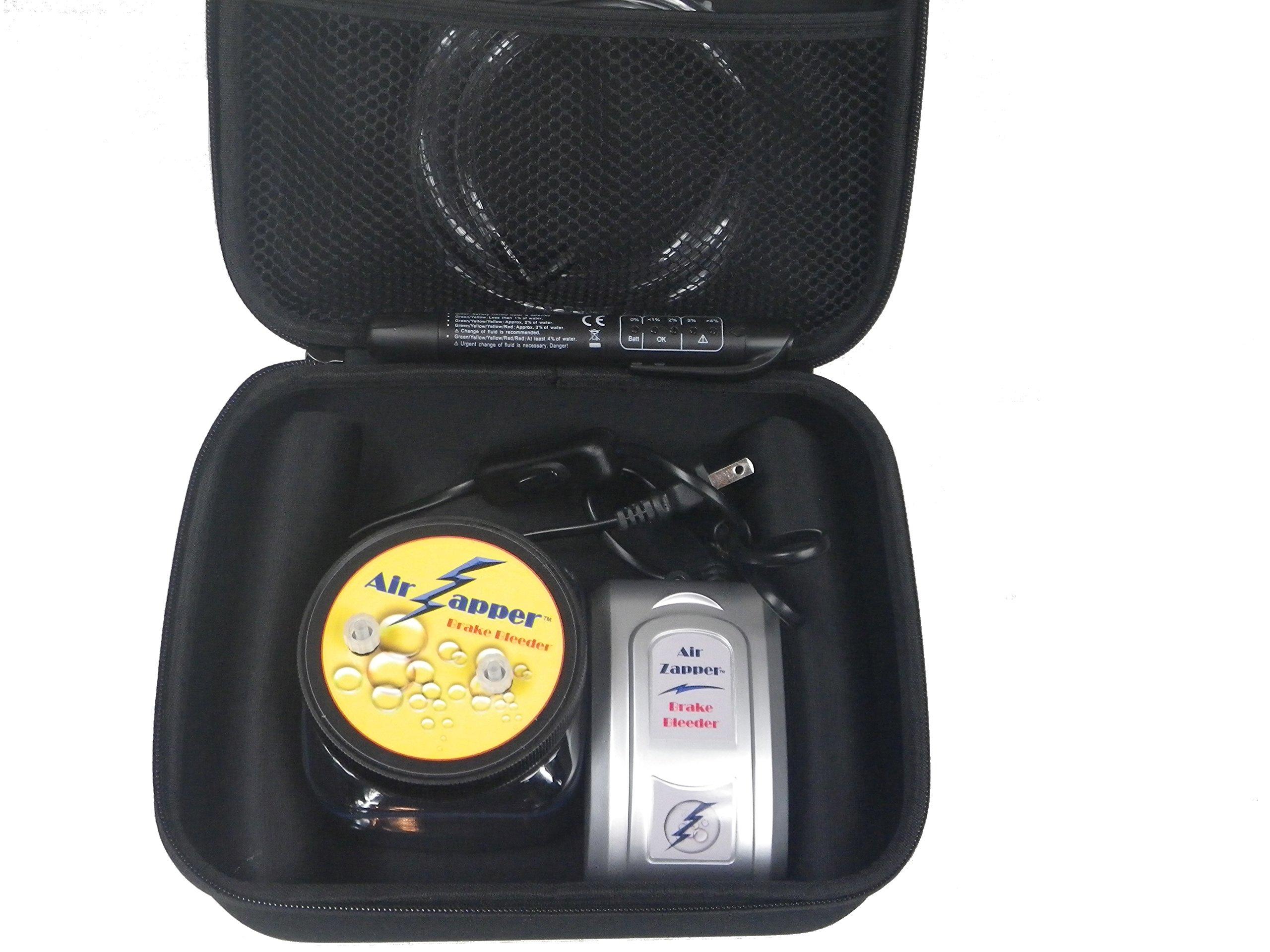 Air Zapper Deluxe Brake Bleeder Kit- Lightning Fast and Hands-Free