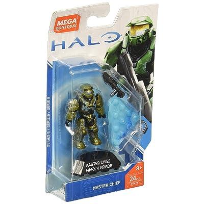 Mega Construx Halo Heroes CE Master Chief Building Set: Toys & Games