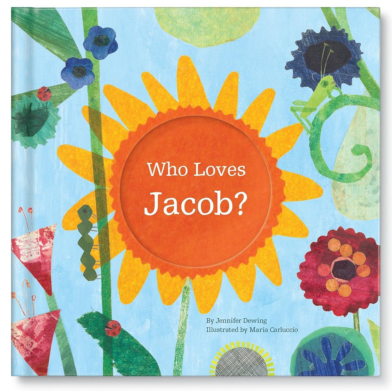 Personalized Custom Name Love Book, Newborn Baby Shower Gift