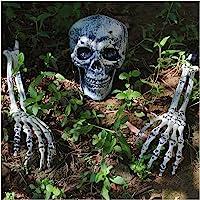 JOYIN Realistic Looking Skeleton Stakes, Yard Lawn Stakes, Groundbreakers for Best Halloween Yard Decorations