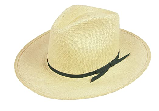 """6826ea0b3985 Image Unavailable. Image not available for. Color: Stetson Orienteer Panama  Straw Fedora Hat 3"""" Brim Natural ..."""