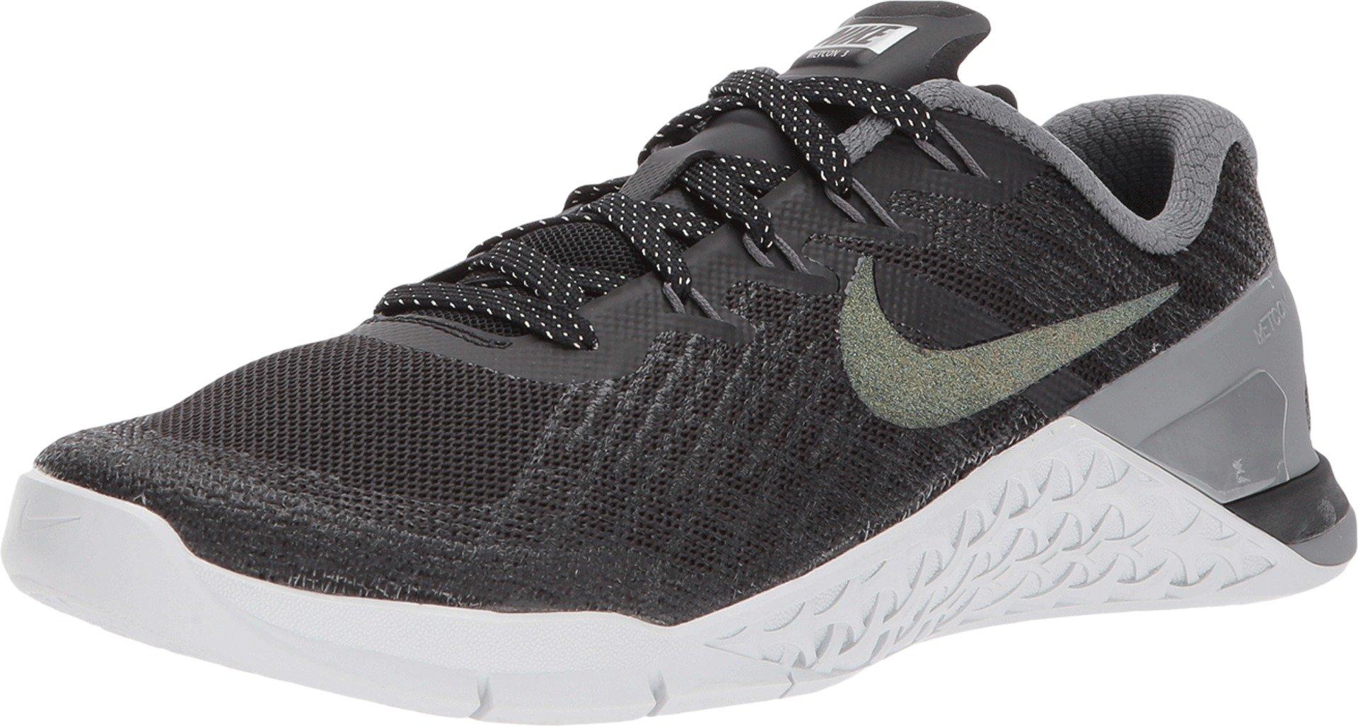 best sneakers 3097f 7865f Galleon - Nike Womens Metcon 3 Metallic Running Trainers 922880 Sneakers  Shoes (UK 7 US 9.5 EU 41, Black Multi Color 001)