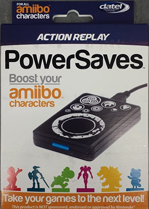 DATEL Action Replay Powersaves For Amiibo Character Boost And Cheats
