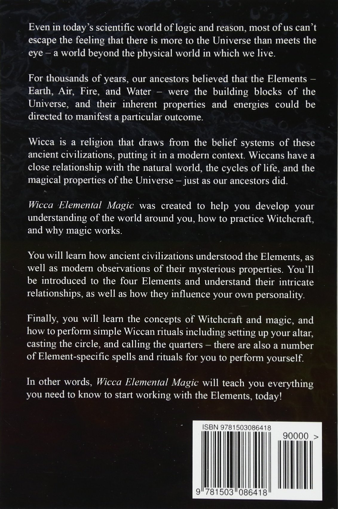 Wicca Elemental Magic: A Guide to the Elements, Witchcraft
