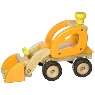 Goki Wheel Loader Toy Figure, Orange: Toys & Games