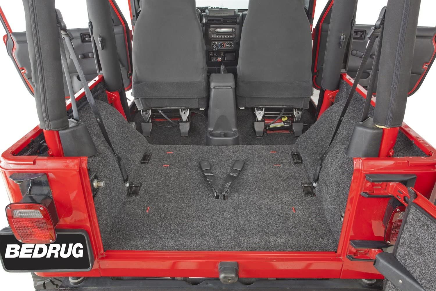 BedRug Jeep Kit INCLUDES TAILGATE /& CARGO LINER BedRug BRCJ76R fits 76-80 CJ-7 REAR KIT W//GUSSETS 4PC FLOOR KIT