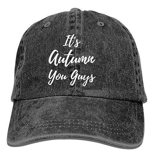 QIPNVY Mens Baseball Cap-Funny Fall Trucker Caps for Men c0fb6915fd0