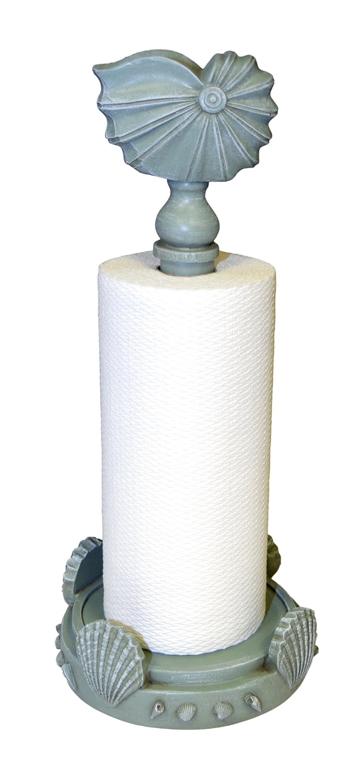 Hickory Manor House Nautilus Paper Towel Holder/Seamist Seamiest by Hickory Manor House
