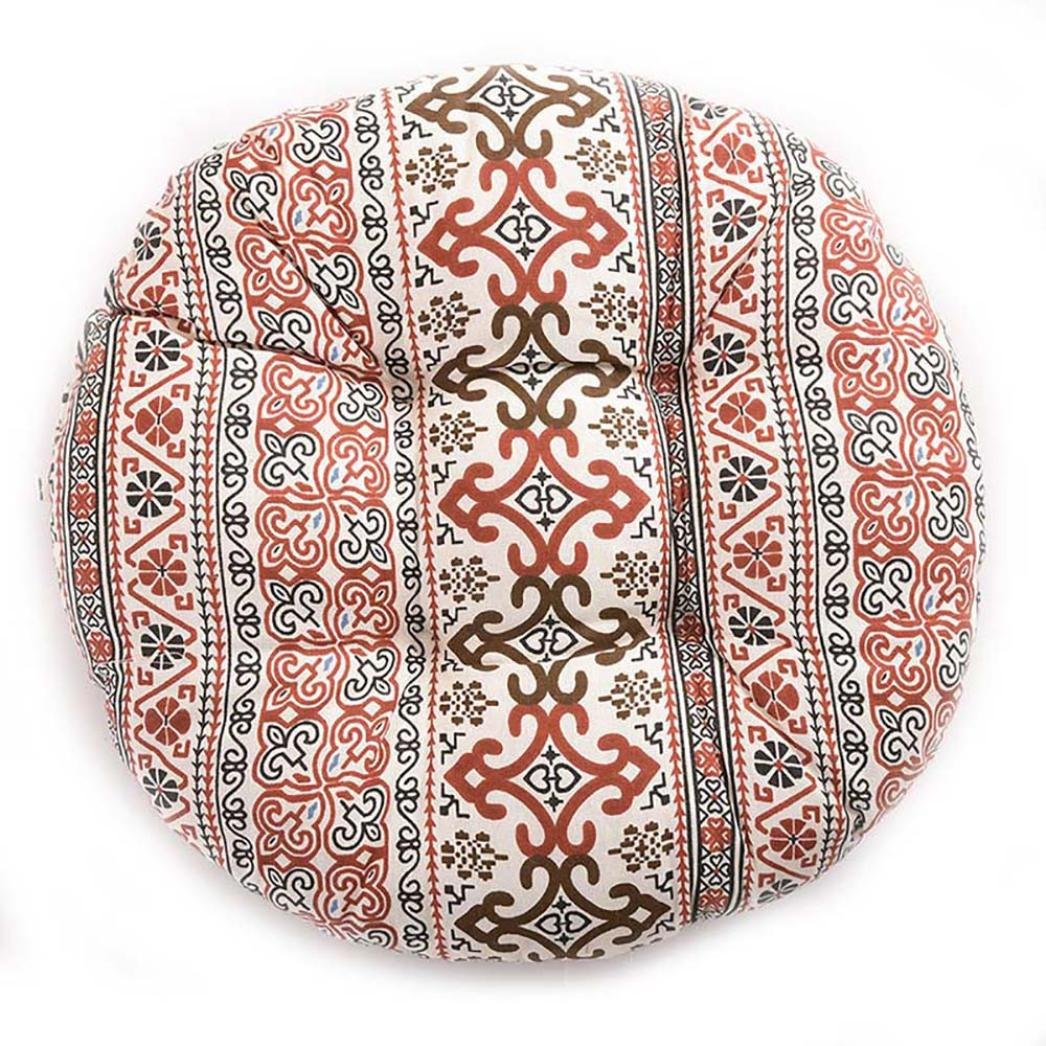 Sothread Soft Creative Round Seat Cushion Garden Patio Home Kitchen Office Chair Pad B