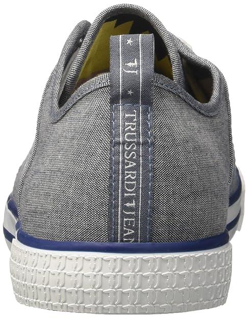 Amazon it Uomo A Vulcanized Sneaker Collo Trussardi Basso Jeans FzUSwA7