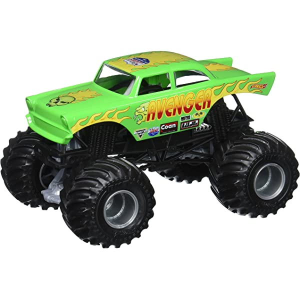 Amazon.com: Hot Wheels Monster Jam Vehículo ...