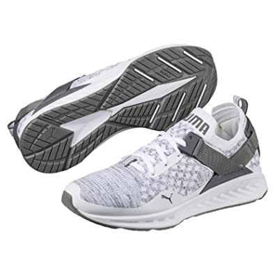 b06f47e4259c4 PUMA Men's Ignite Evoknit Lo, White-Quarry-Quiet Shade,13 Running Shoes