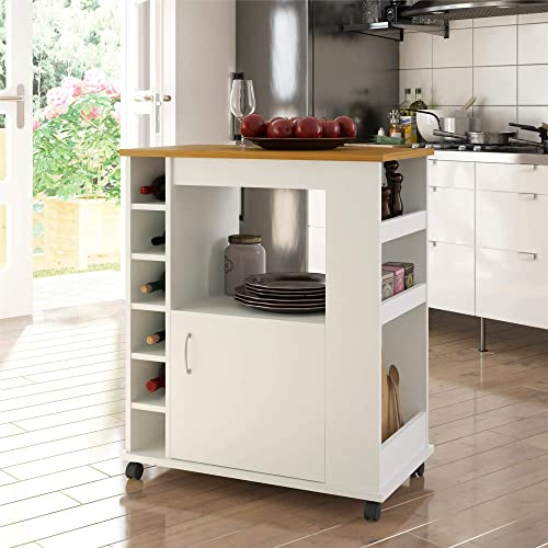 Ameriwood Home Williams Kitchen Cart