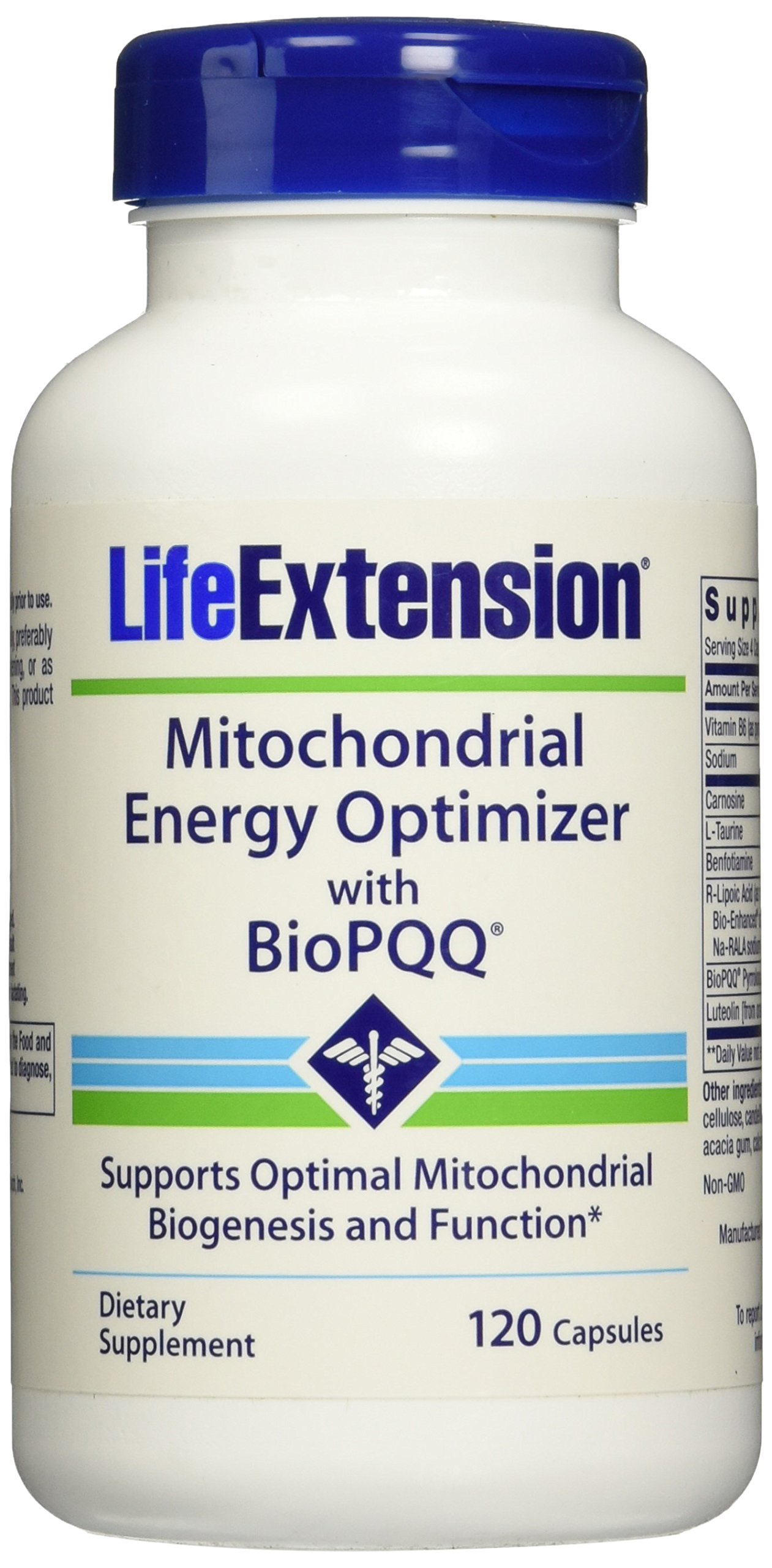 Life Extension Mitchondrial Energy Optimizer with BioPQQ -- 120 Capsules