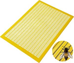 Originalidad 8 Frame Plastic Beekeeping Queen Excluder to Keep Queen Separate from Honey Boxes in a Bee Hive- Set of 2