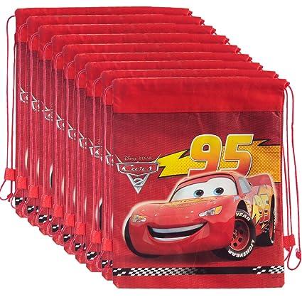 Asera 12 Pcs Disney Cars Dori Bag Haversack Gift Bags For Birthday Gifts Kids Theme Party Amazonin Toys Games