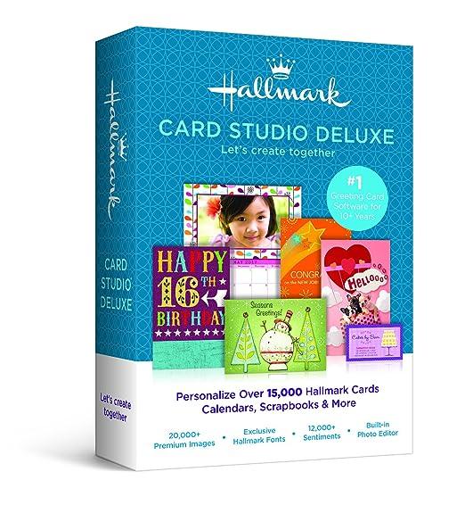 Amazon hallmark card studio 2015 deluxe hallmark card studio 2015 deluxe m4hsunfo