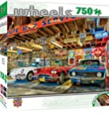 MasterPieces Wheels Collection Triple Threat Puzzle, 750-Piece
