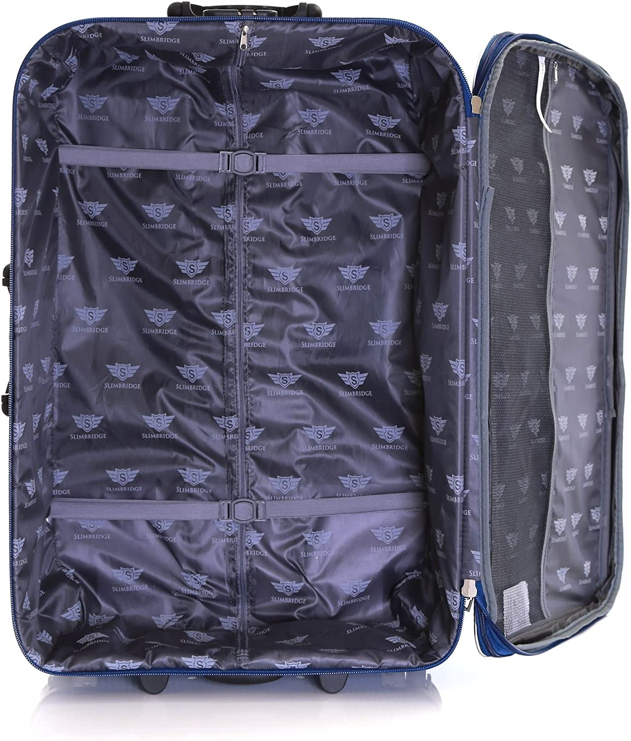 Slimbridge Cabin Hand Luggage Carry-on Suitcase Bag Expandable and Lightweight 55 cm 2.5 kg 35 litres 2 Wheels with Integrated Number Lock Rennes Black