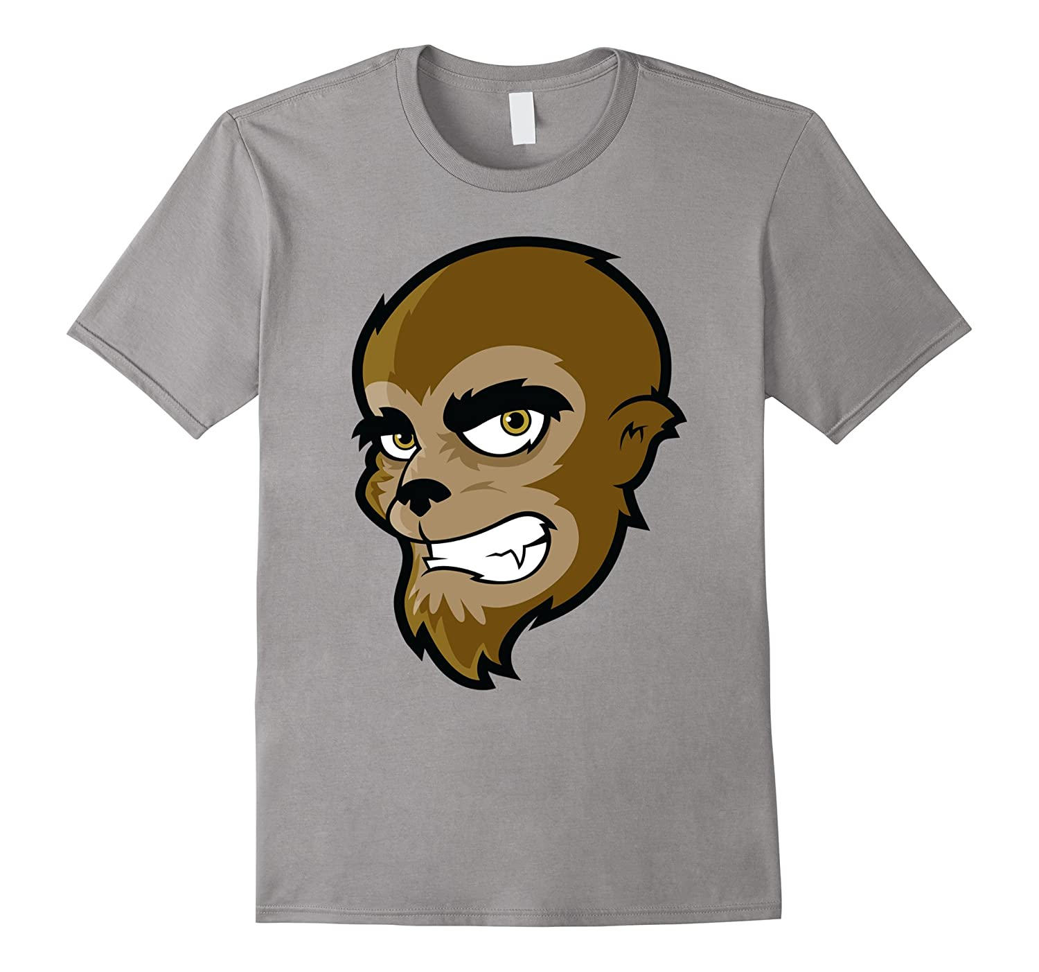 Cartoon Wolfman Trick or Treat : Halloween shirt-FL