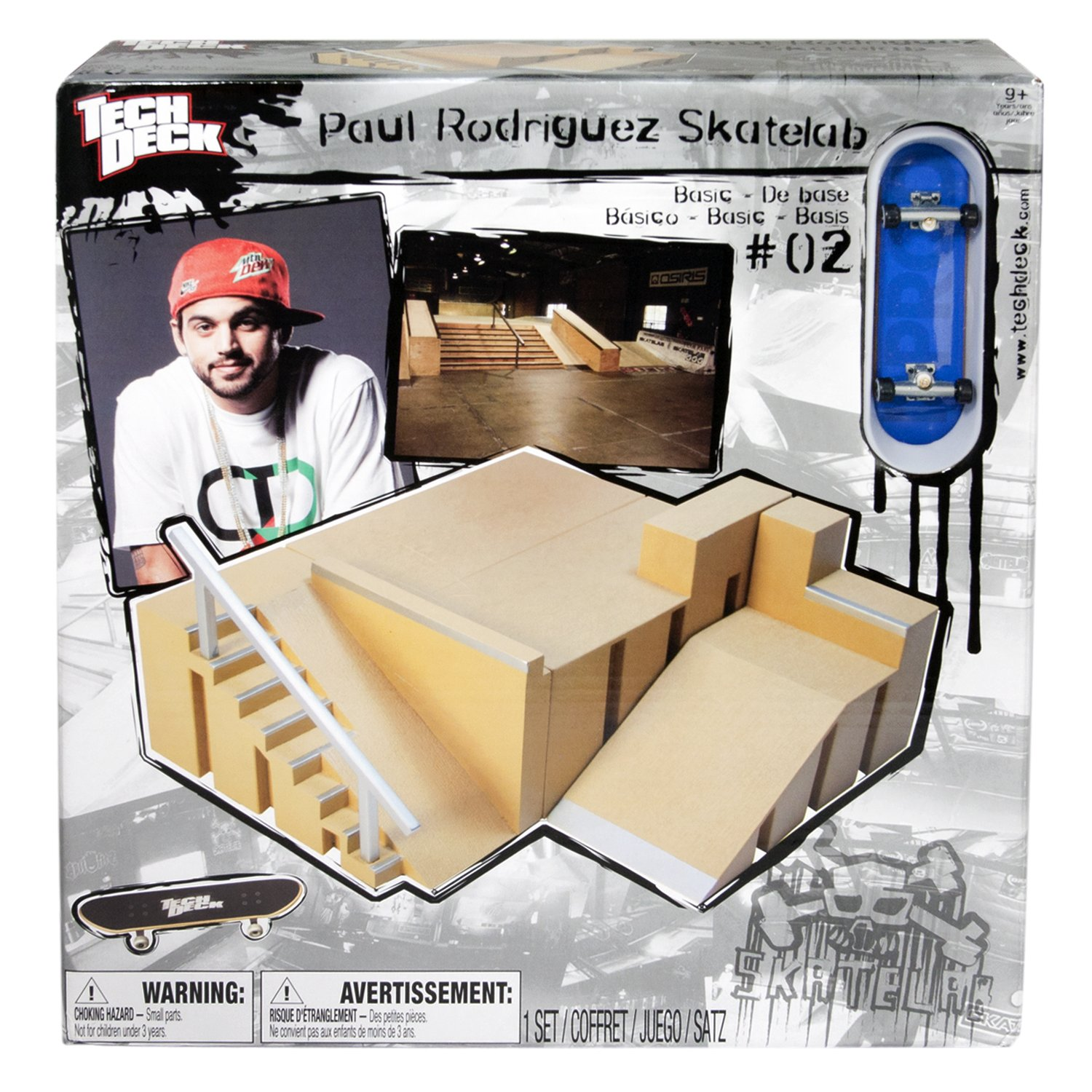 Tech Deck Small Sk8 Lab - Big Ramp And Kicker Obstacle by Spin Master