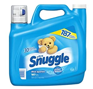 Snuggle Fabric Softener, 187 Load/150 Fluid Ounce