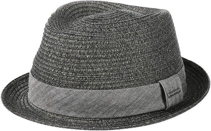 Estivo da di Paglia Primavera//Estate Stetson Reidton Toyo Trilby Cappello Uomo