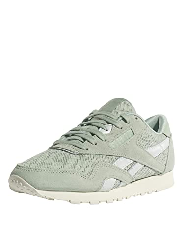 e2eea881ecb Reebok Women Sneakers Classic Nylon Cold Paste Green 40.5  Amazon.co ...