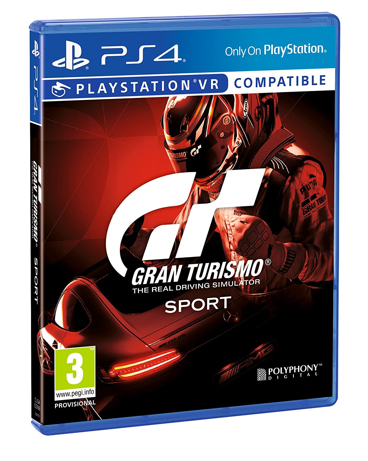Gran Turismo Sport   Play Station 4 by Sony