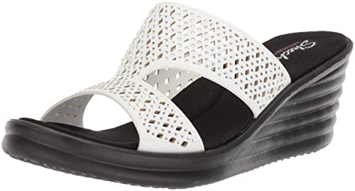 195d8d7da Skechers Womens Rumbler Wave - Ibiza Summer Slide Sandal  Amazon.ca ...