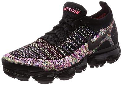 on sale 383dc abfb1 Nike Women's Air Vapormax Flyknit 2 Black/Black/Racer Pink ...