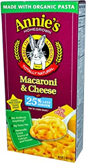 product image for Annie's Homegrown, Organic Macaroni & Cheese, Low Sodium, 6 oz (170 g) (packs of 3)